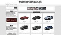 Autós oldal eladó: autóskatalógus.hu