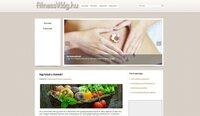 Egészséggel foglalkózó weboldal eladó: fitnessvilag.hu