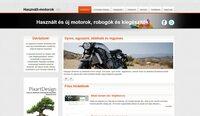 Használt-motorok.hu - Motoros hirdetési oldal eladó