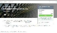Eladó mobilalkalmazasok.hu weboldal