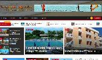 Tengerparti nyaralás komplett weboldal eladó
