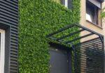 kerma design falburkolat - Mesterséges zöld növény faldekoráció